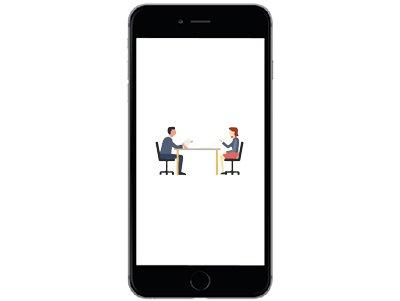 ขั้นตอน 3 สัมภาษณ์กับผู้สมัคร